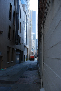 Downtown Seattle Alley