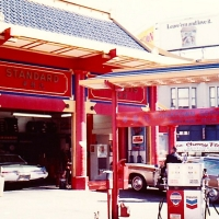 TBT: SF Gas Station, July, 1970