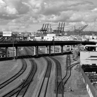 Seattle Rail Yard