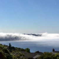 Fog on Puget Sound